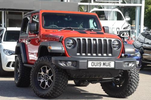 Jeep Wrangler 2.2 Multijet II (200bhp) 4X4 Rubicon Estate Diesel Fire Cracker Red Clearcoat