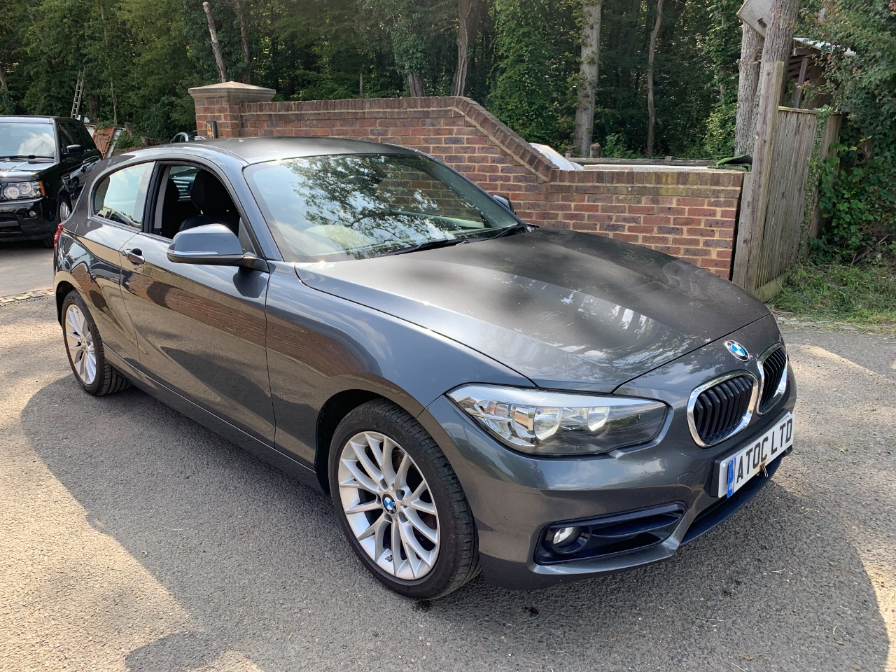 BMW 1 Series 1.5 116D SPORT AUTO Hatchback Diesel Grey at A Touch of Class Kingsnorth