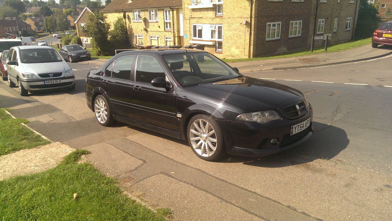 MG ZS 2.5 180 Saloon Petrol Black
