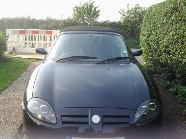 MG Mgtf 1.8 135 Convertible Petrol Grey