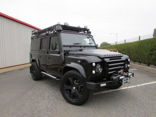 ... TDCi Utility Wagon Over Land Flat Dog Edition Commercial Diesel Black