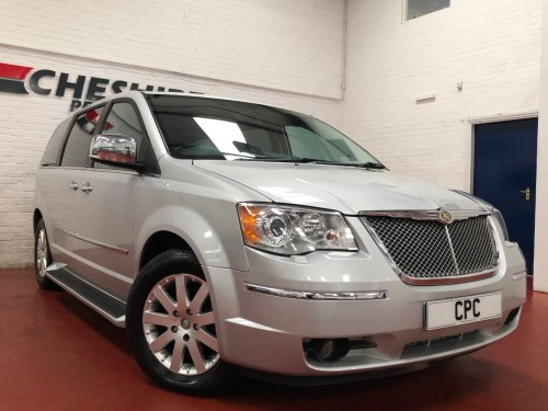 Chrysler Grand Voyager 2.8 CRD Limited 5dr Auto MPV Diesel Silver