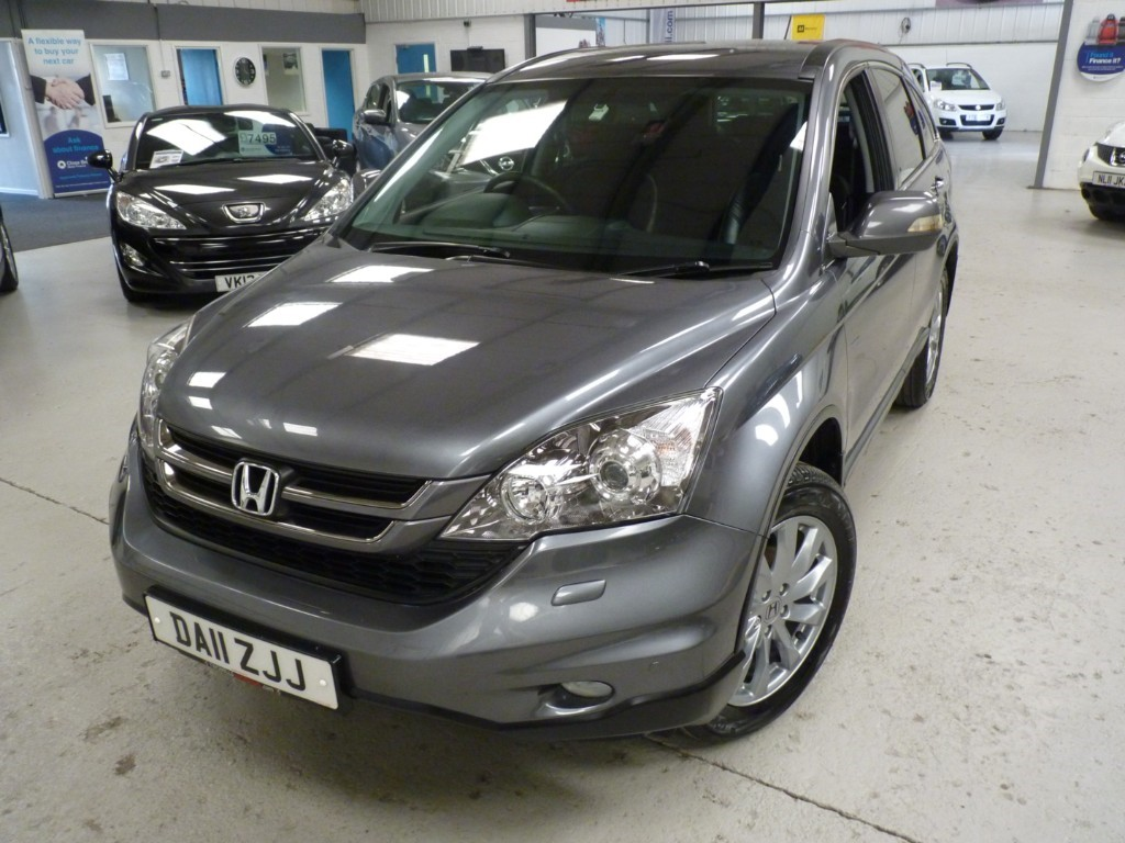 Honda CR-V 2.2 Used I-DTEC ES + SERVICE HIST + JUST SERVICED + JULY 20 MOT + H SEATS + PRIVACY + 2 KEYS + 1 OWNER SUV Diesel Grey