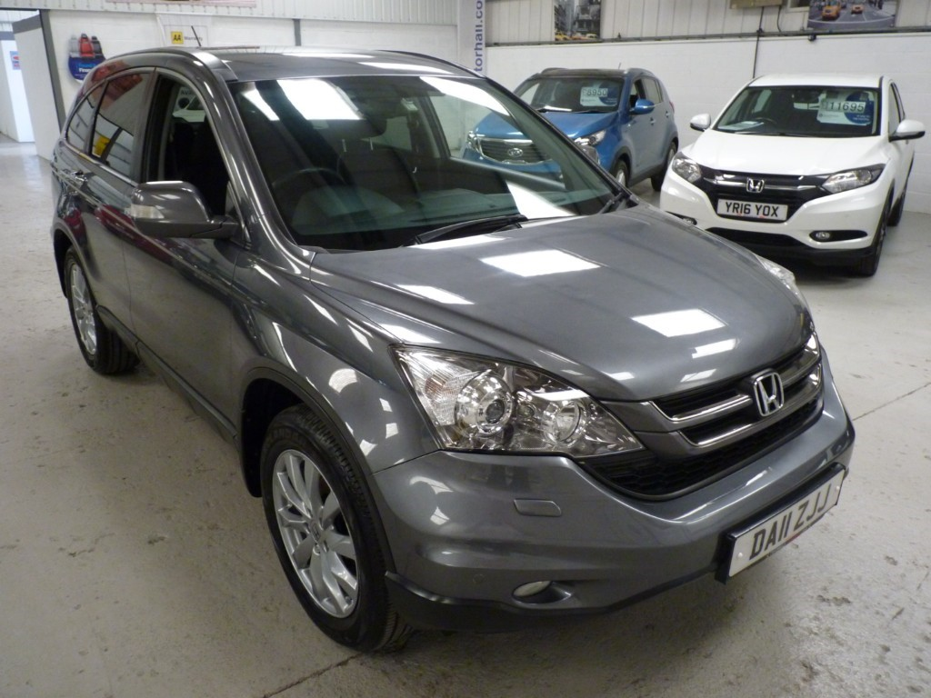 2011 Honda CR-V 2.2 Used I-DTEC ES + SERVICE HIST + JUST SERVICED + JULY 20 MOT + H SEATS + PRIVACY + 2 KEYS + 1 OWNER