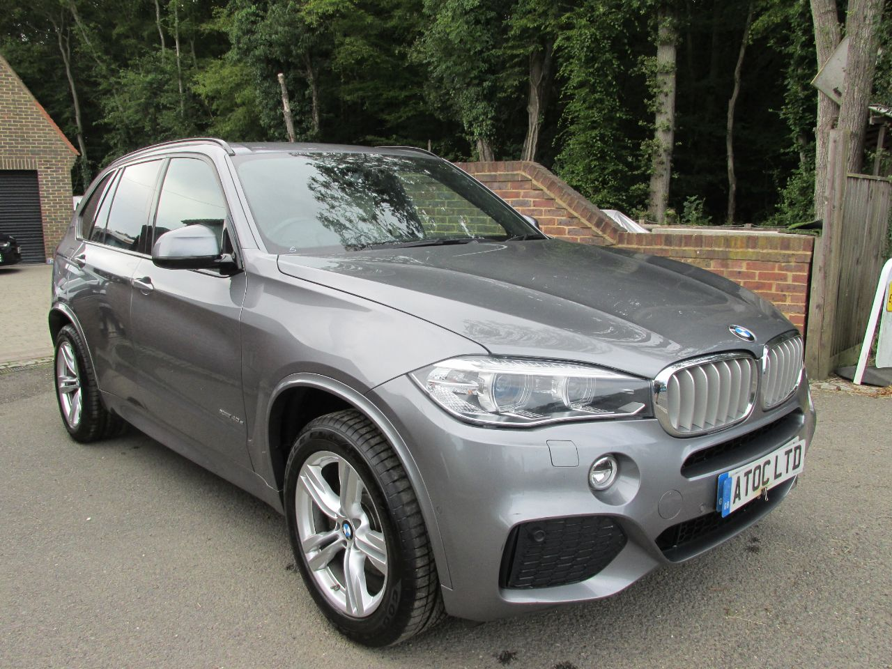 BMW X5 2.0 xDrive40e M Sport 5dr Auto + Zero Road Tax Band + VAT Qualifying Estate Petrol / Electric Hybrid Grey