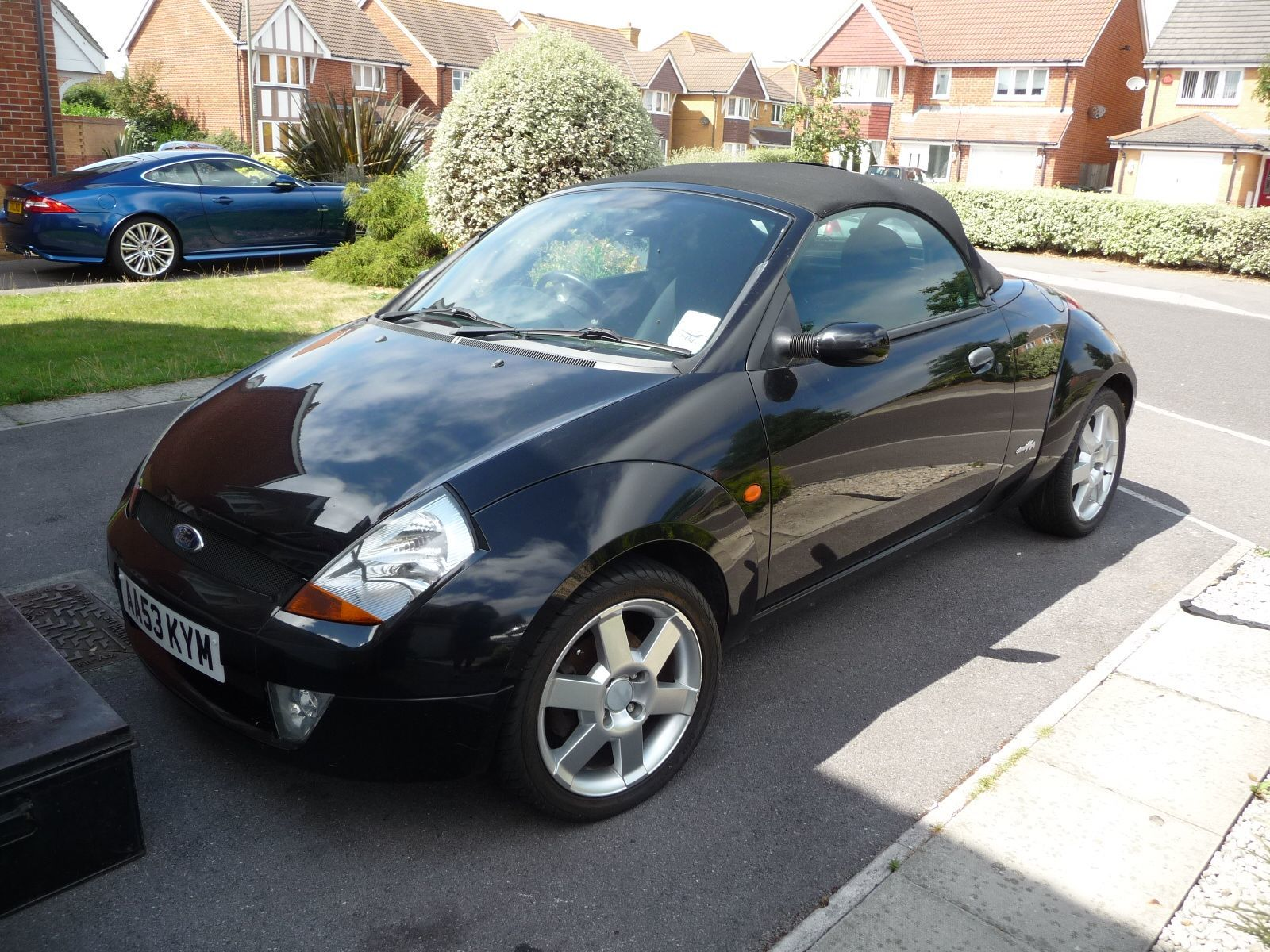 Ford Streetka 1.6 8V CONVERTIBLE PETROL BLACK