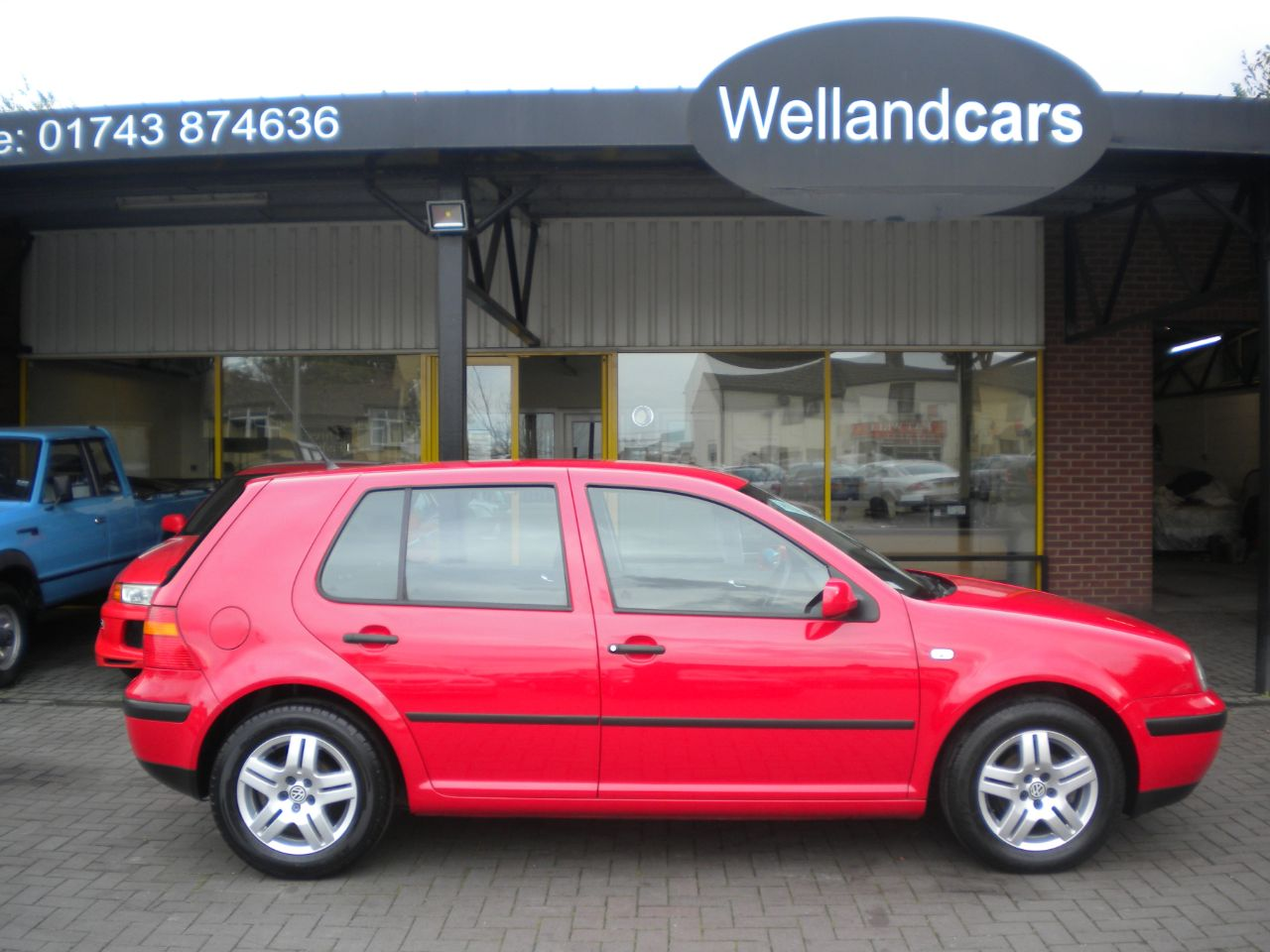 Volkswagen Golf 1.4 Match 5dr Manual, Air-Con, Alloys, CD, Recent Full Service and Tyres. Hatchback Petrol Red at Welland Cars Shrewsbury