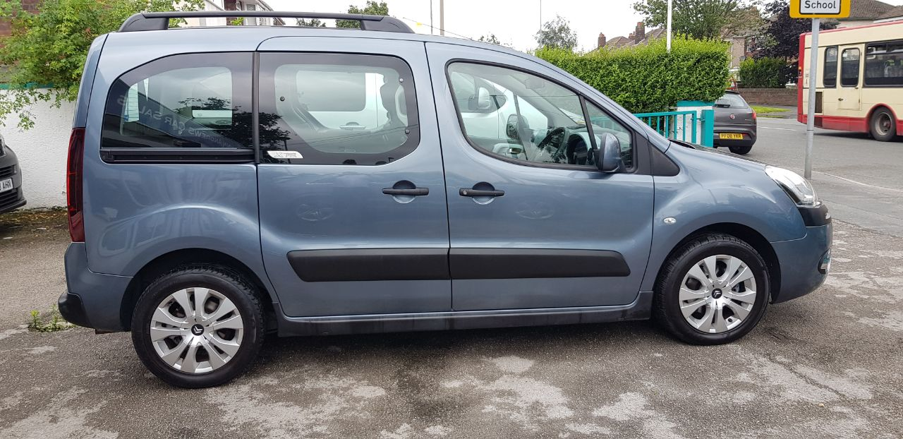 Citroen Berlingo Multispace 1.6 HDi 90 XTR 5dr MPV Diesel Grey at Glynn Andrews Widnes