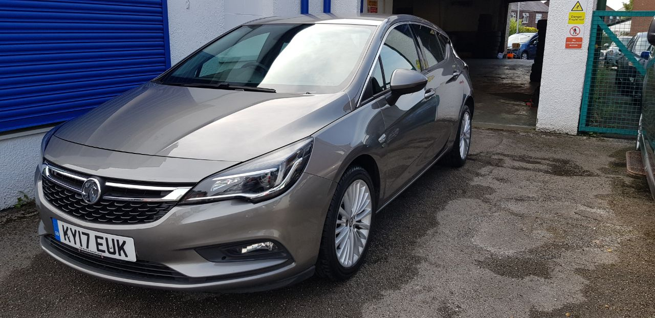 Vauxhall Astra 1.6 CDTi 16V 136 Elite Nav 5dr Hatchback Diesel Grey at Glynn Andrews Widnes