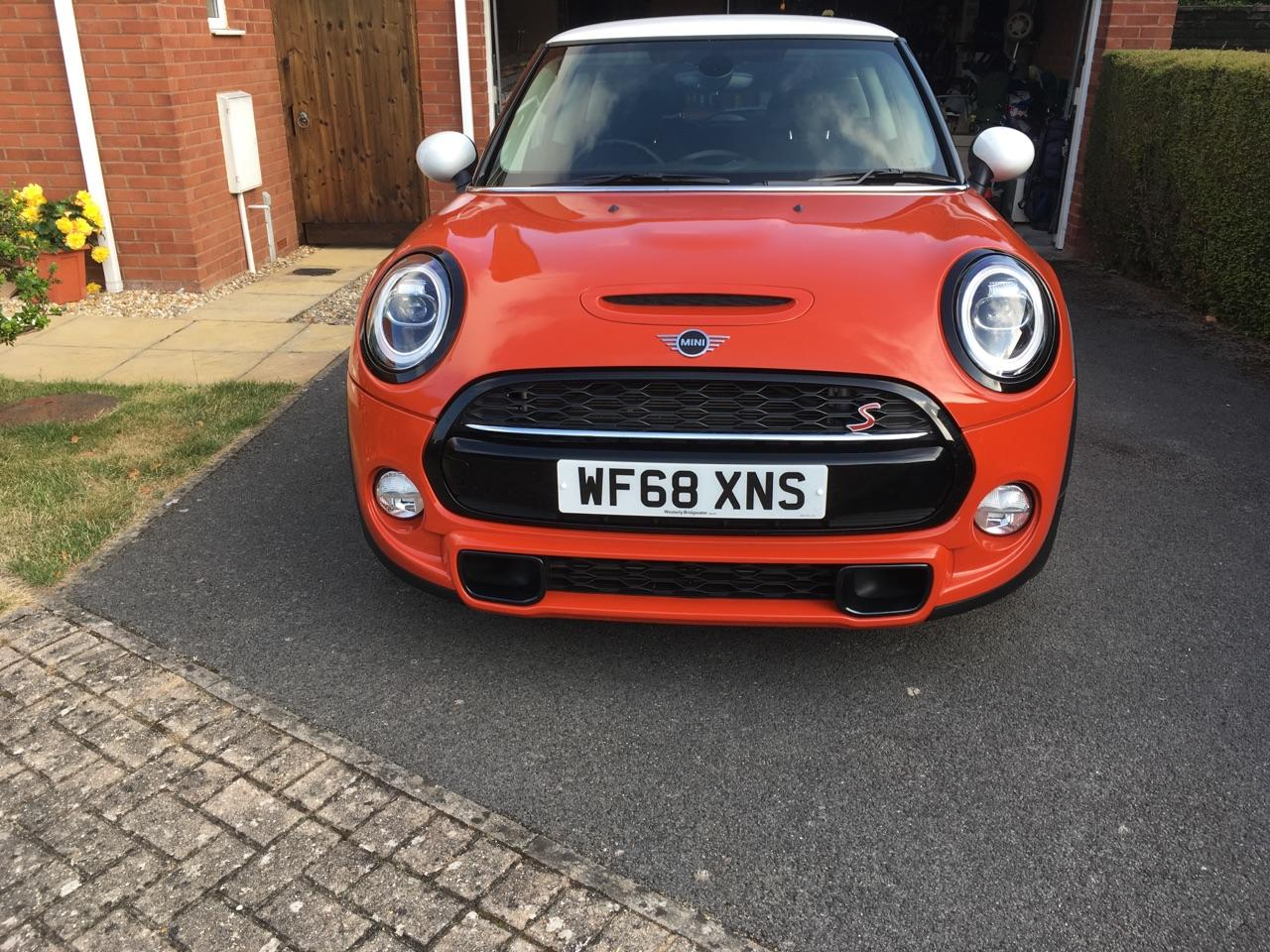 Mini Coupe 2.0 COOPER S Hatchback Petrol Orange
