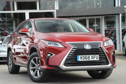 Lexus RX 3.5 SE-L Estate Hybrid Mesa Red Metallic