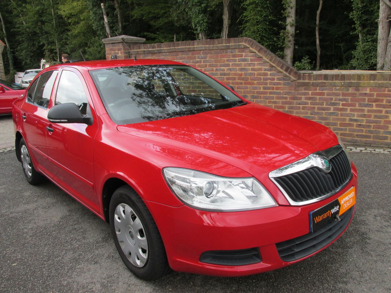 Skoda Octavia 1.6 TDI CR S 5dr Hatchback Diesel Red at A Touch of Class Kingsnorth