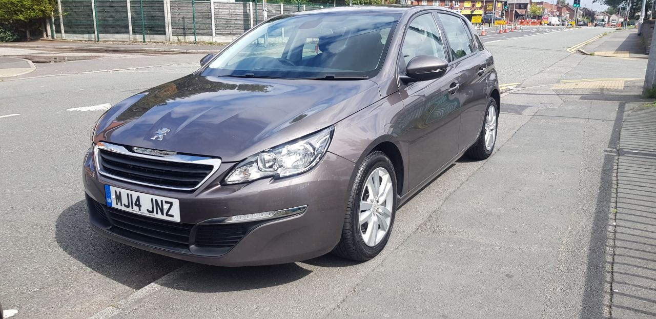 Peugeot 308 1.2 PureTech 130 Active 5dr Hatchback Petrol Grey at Glynn Andrews Widnes