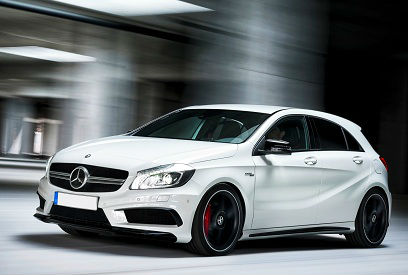 Mercedes benz a45 amg vs volkswagen golf gti for Mercedes benz volkswagen