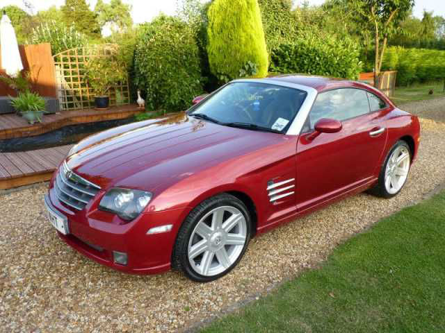 2004 Chrysler Crossfire 3.2 V6 2dr £4950