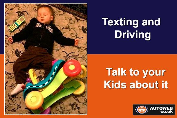 E-Card driving text