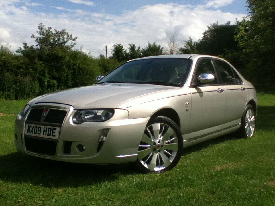 Rover 75 4.6 V8 Connoissuer SE Saloon Petrol Gold