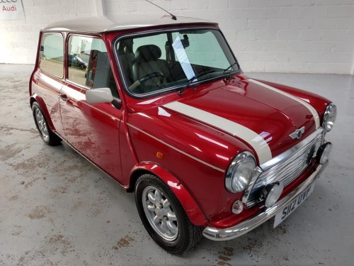 Rover Mini COOPER 1.3 MPI Saloon Petrol Nightfire Red Metallic