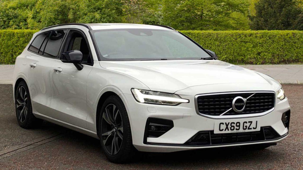 Volvo V60 2.0 D3 R-Design (Parking Camera, Heated Front Seats, Sports Chassis) Estate Diesel White