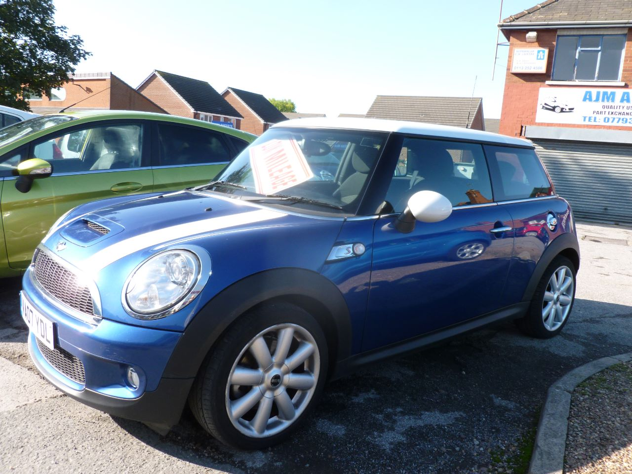 Mini Hatchback 1.6 Cooper S 3dr Hatchback Petrol Blue at AJM Autos Leeds Leeds
