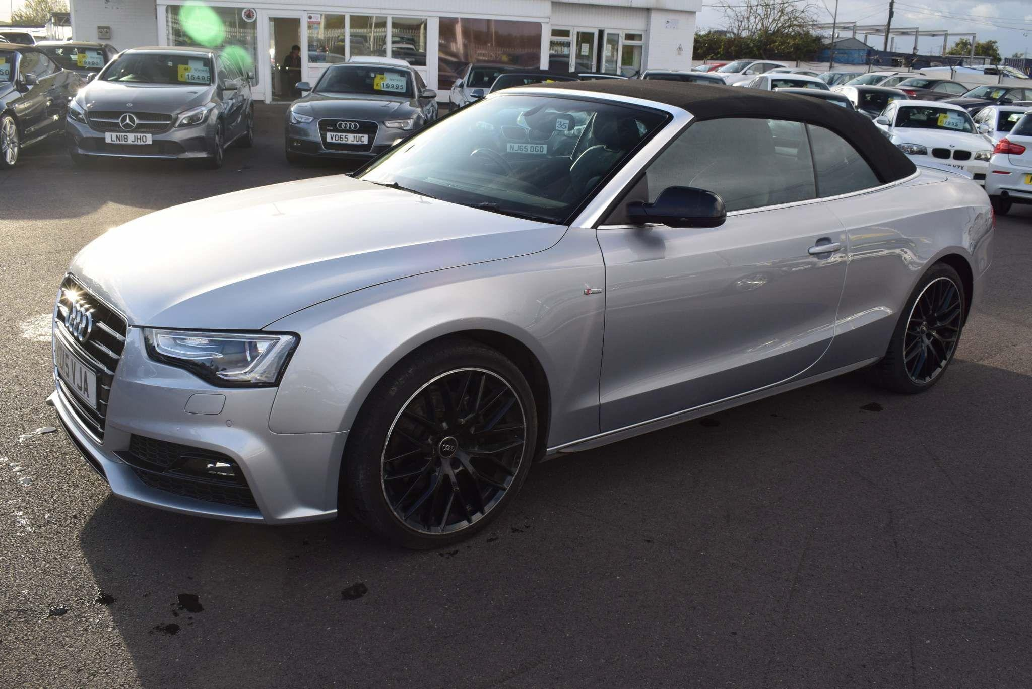 Audi A5 Cabriolet 2.0 TDI S line Special Edition Plus Cabriolet 2dr Convertible Diesel Silver