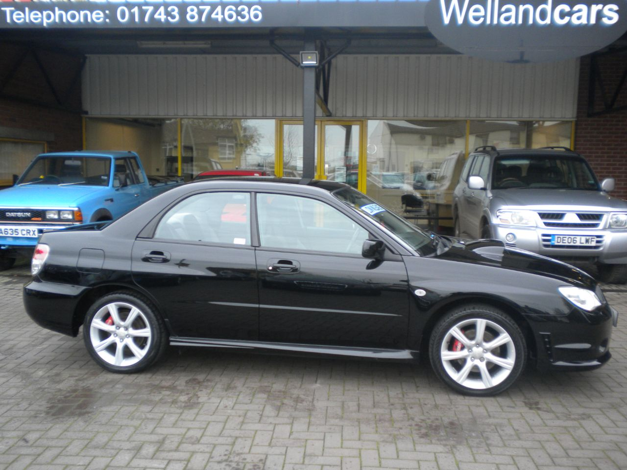 Subaru Impreza 2.5 WRX 4dr 5 Speed Manual, Immaculate Original Condition with F/S/H, Only 51K Miles Saloon Petrol Black at Welland Cars Shrewsbury
