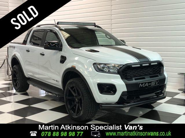 Ford Ranger Wildtrak 2.0 BiTurbo EcoBlue MA-SV Edition 213BHP Pick Up Diesel Frozen White