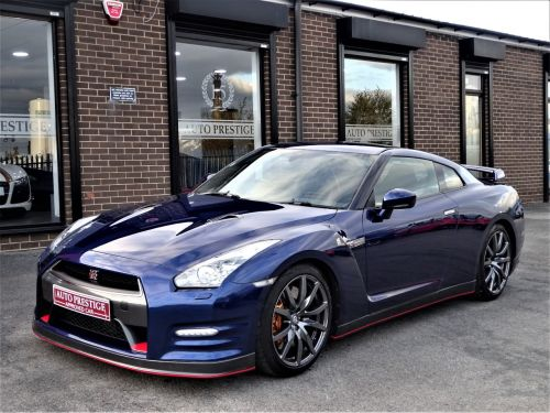 Nissan GT-R 3.8 [530] 2dr Auto MIDNIGHT BLUE METALLIC Coupe Petrol Blue