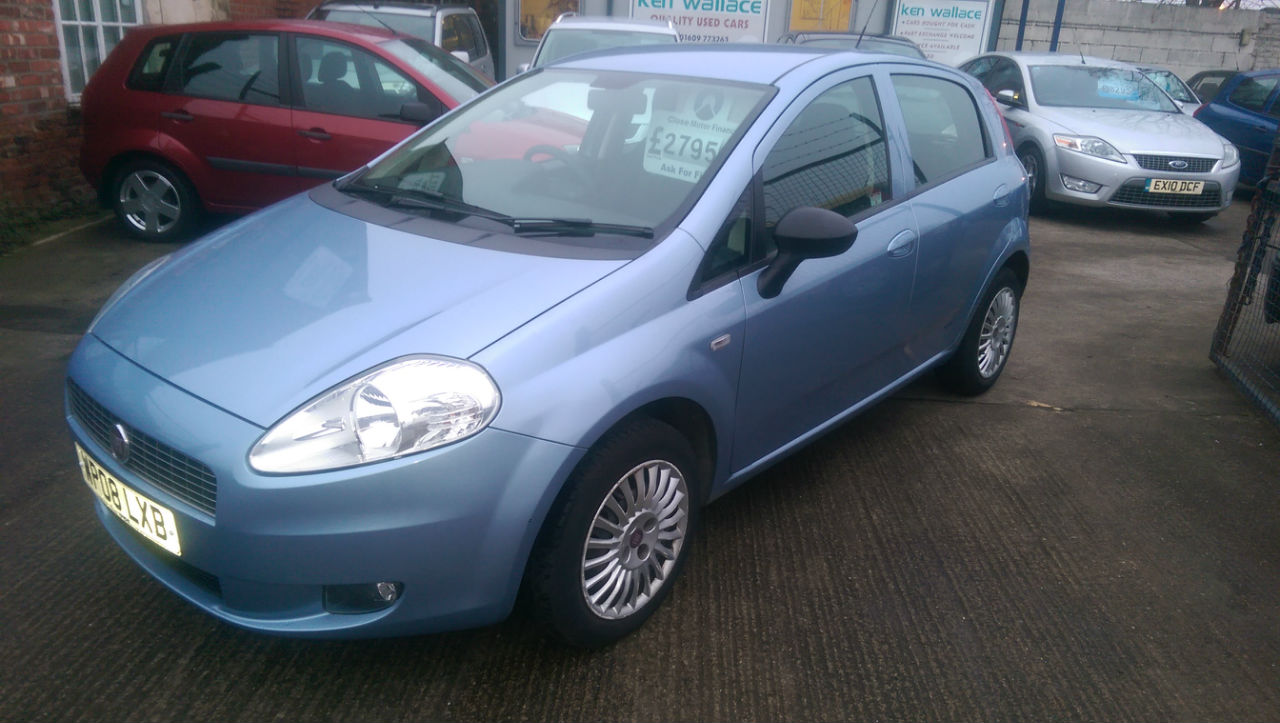 Fiat Grande Punto 1.2 Active 5dr Hatchback Petrol Blue at Ken Wallace Northallerton