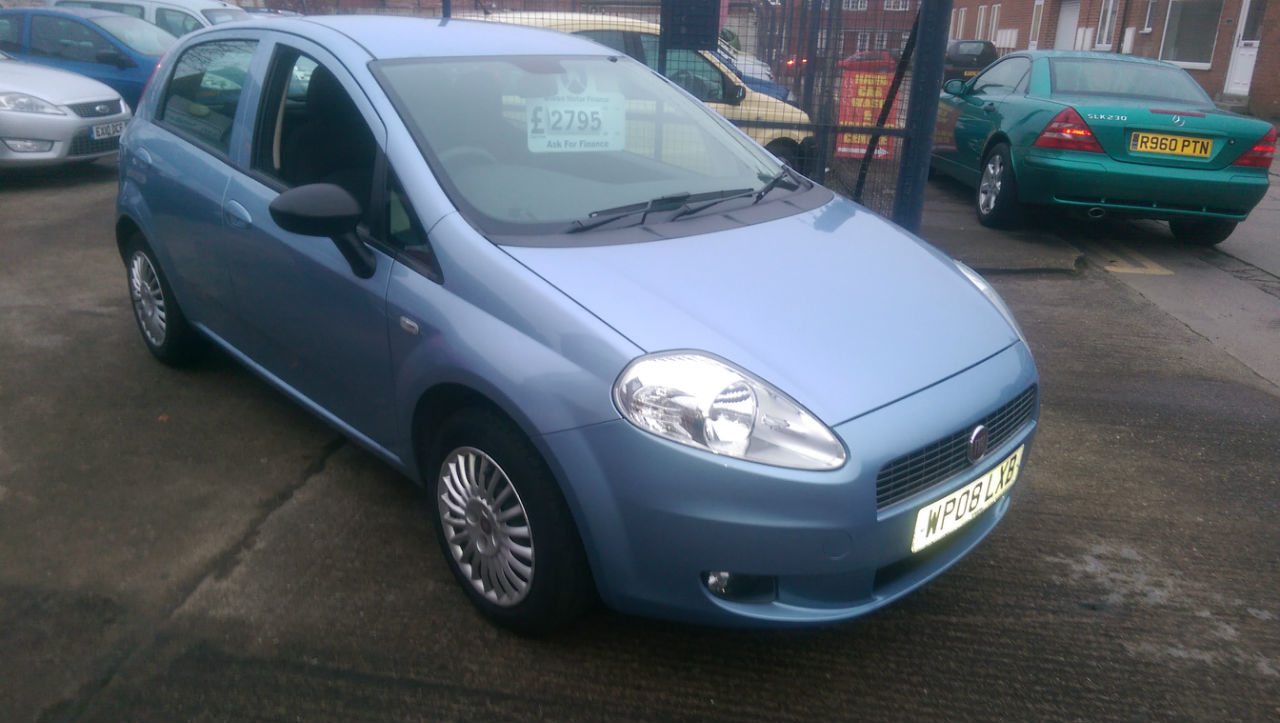 second hand fiat grande punto 1 2 active 5dr for sale in northallerton north yorkshire ken. Black Bedroom Furniture Sets. Home Design Ideas