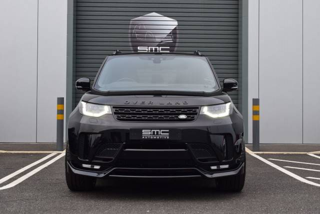 Land Rover Discovery SMC Over Land Star Tech 3.0 SDV6 306 HSE Commercial Auto SUV Diesel Black