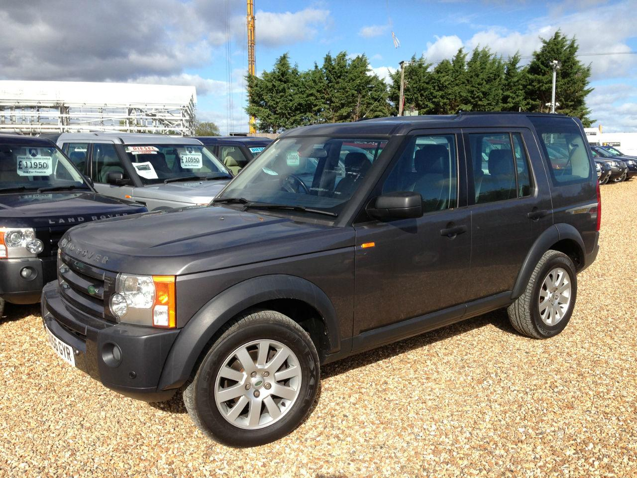 Land Rover Discovery 2.7 Td V6 SE 5DR EXCELLENT CONDITION FULL SERVICE HISTORY 7 SEATER BLACK LEATHER Four Wheel Drive Diesel Grey