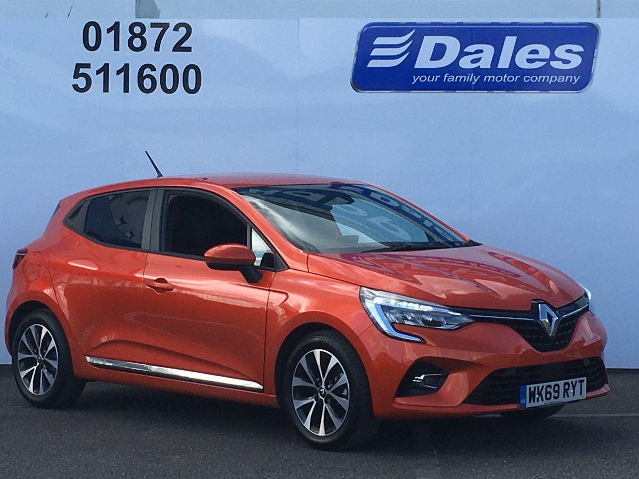Renault Clio 1.0 CLIO ICONIC TCE Hatchback Petrol Orange