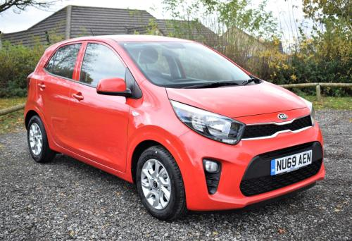 Kia Picanto 1.25 2 5dr HATCHBACK Petrol Red