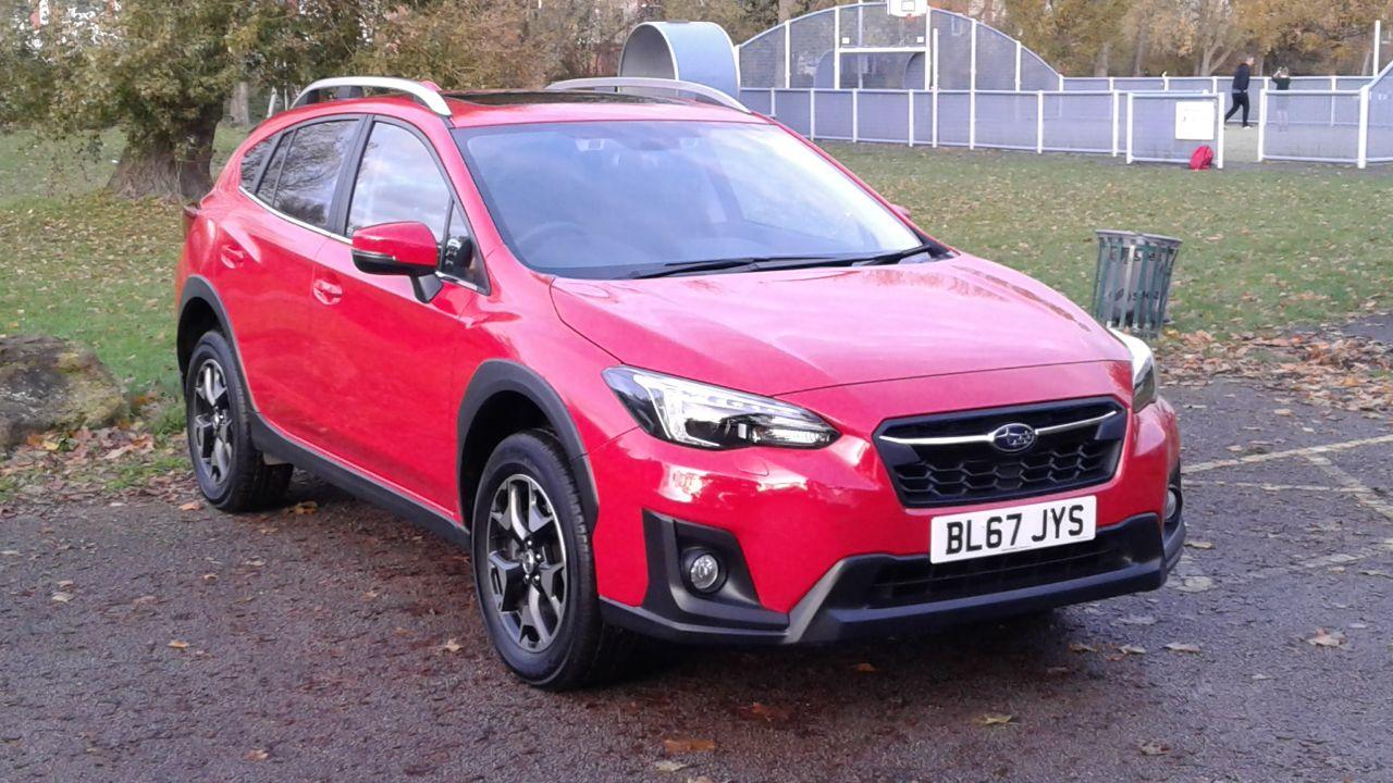Subaru XV 1.6i SE Premium 5dr Lineartronic Hatchback Petrol Red
