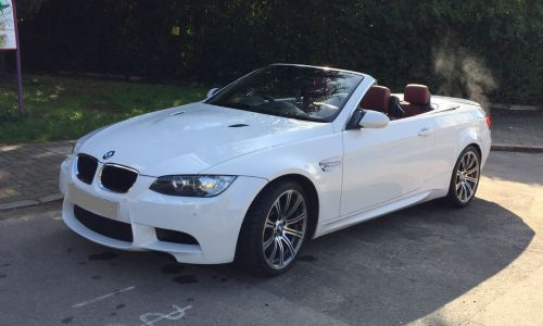 BMW 3 Series 4.0 M3 Convertible Petrol White
