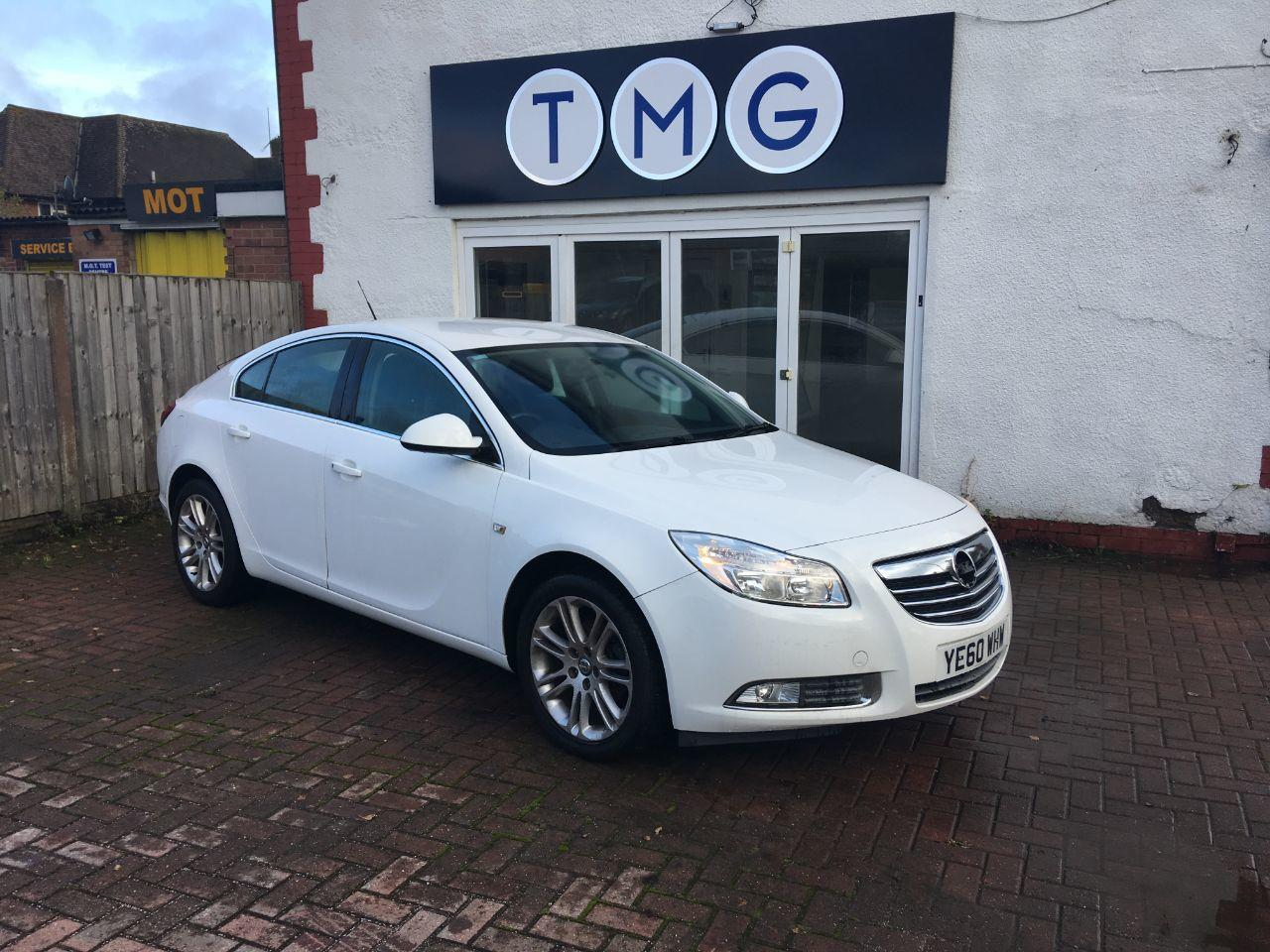 Vauxhall Insignia 1.8 EXCLUSIV Hatchback Petrol White