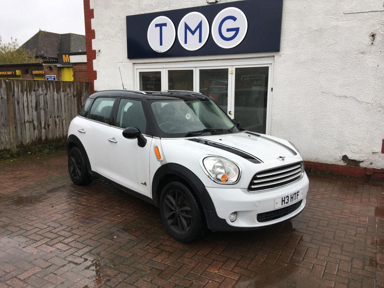 Mini Countryman 1.6 COOPER ALL4 Four Wheel Drive Diesel White