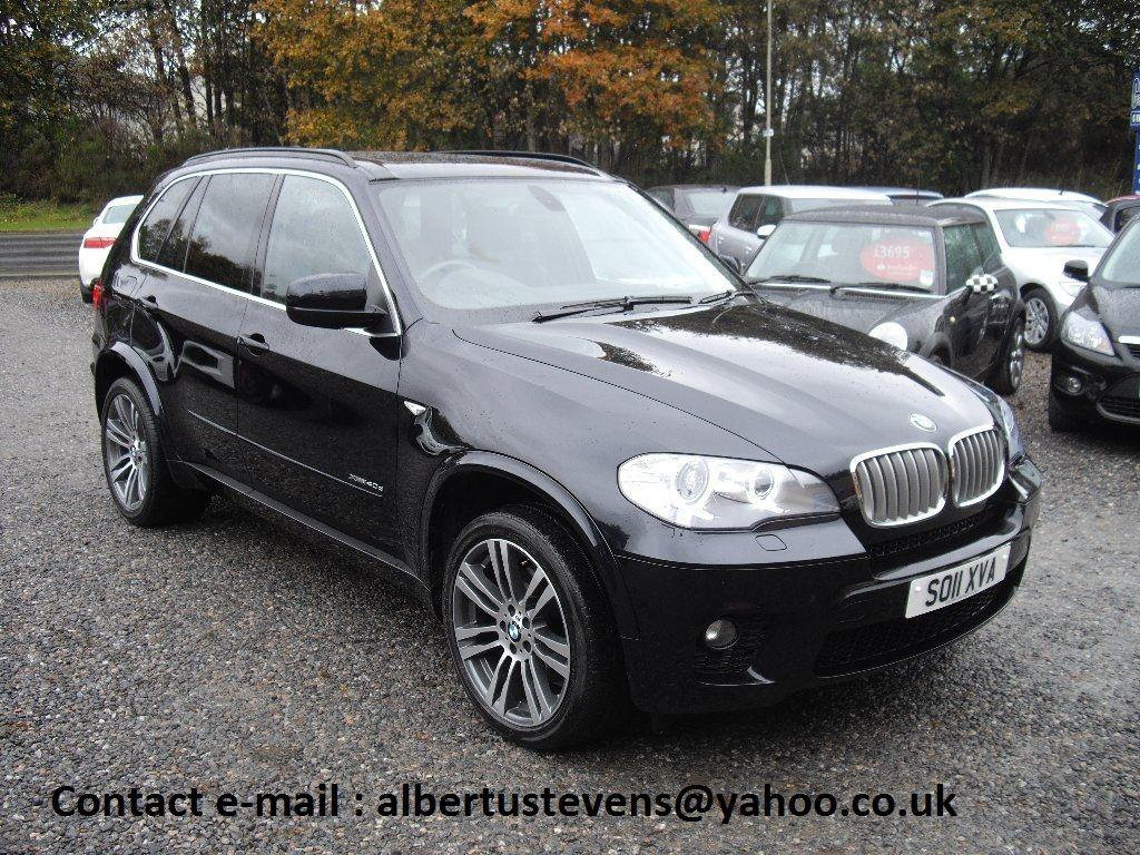 BMW X5 3.0 XDRIVE40D M SPORT Estate Diesel Black