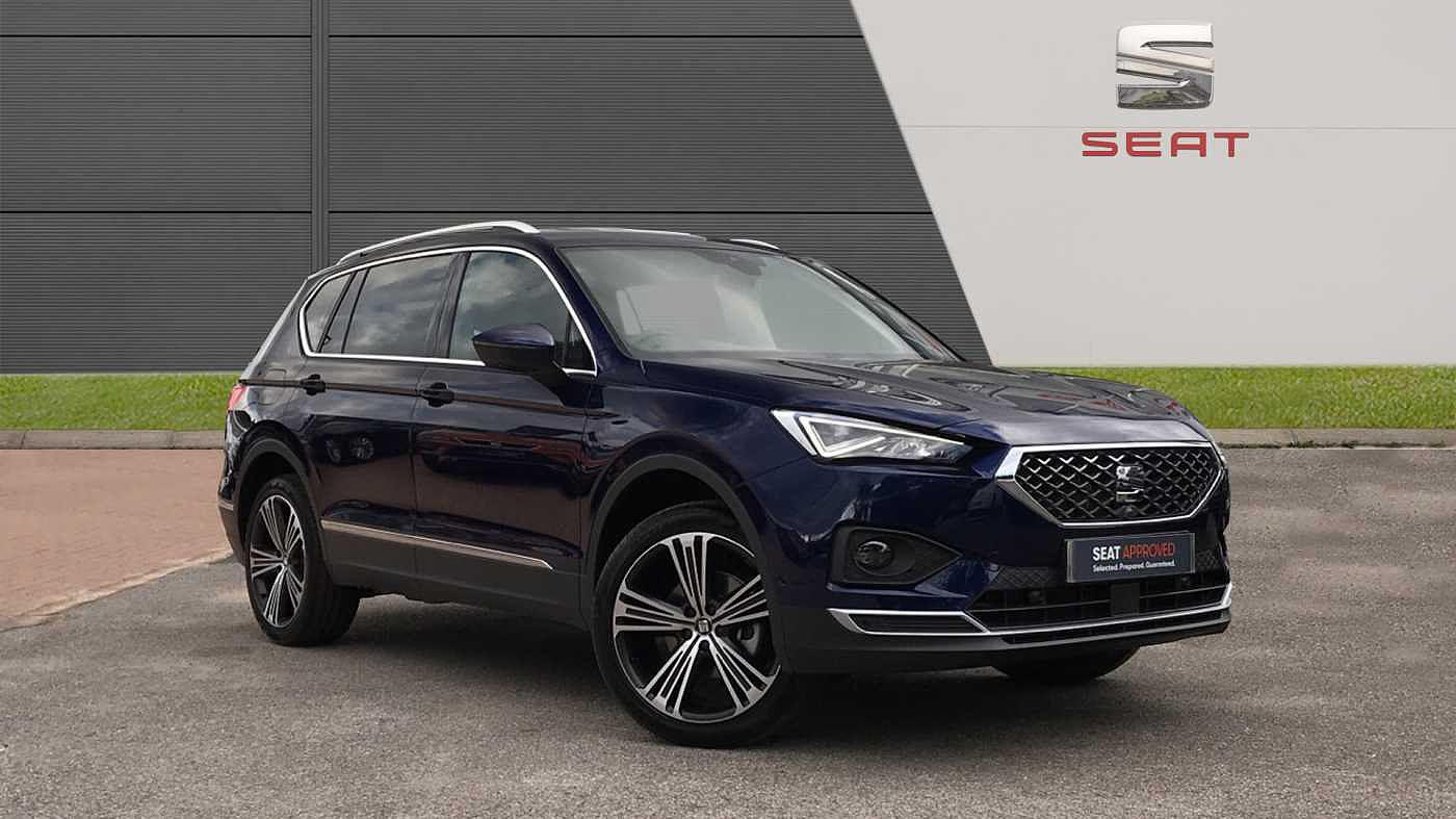 Seat Tarraco 1.5 TSI EVO (150ps) Xcellence Lux s/s SUV Estate Petrol Atlantic Blue