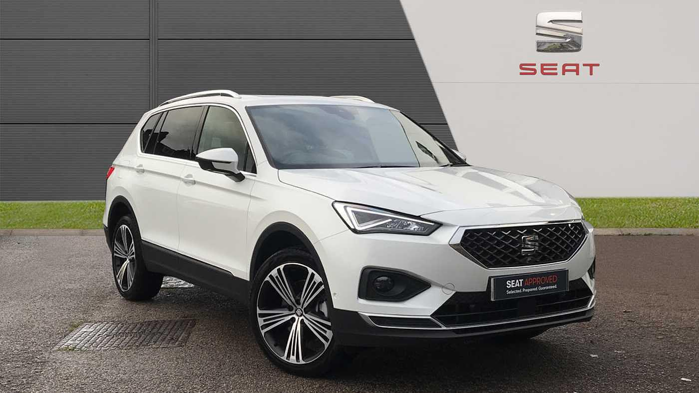 Seat Tarraco 2.0TDI 190ps Xcellence Lux s/s 4Drive DSG Estate Diesel Oryx White