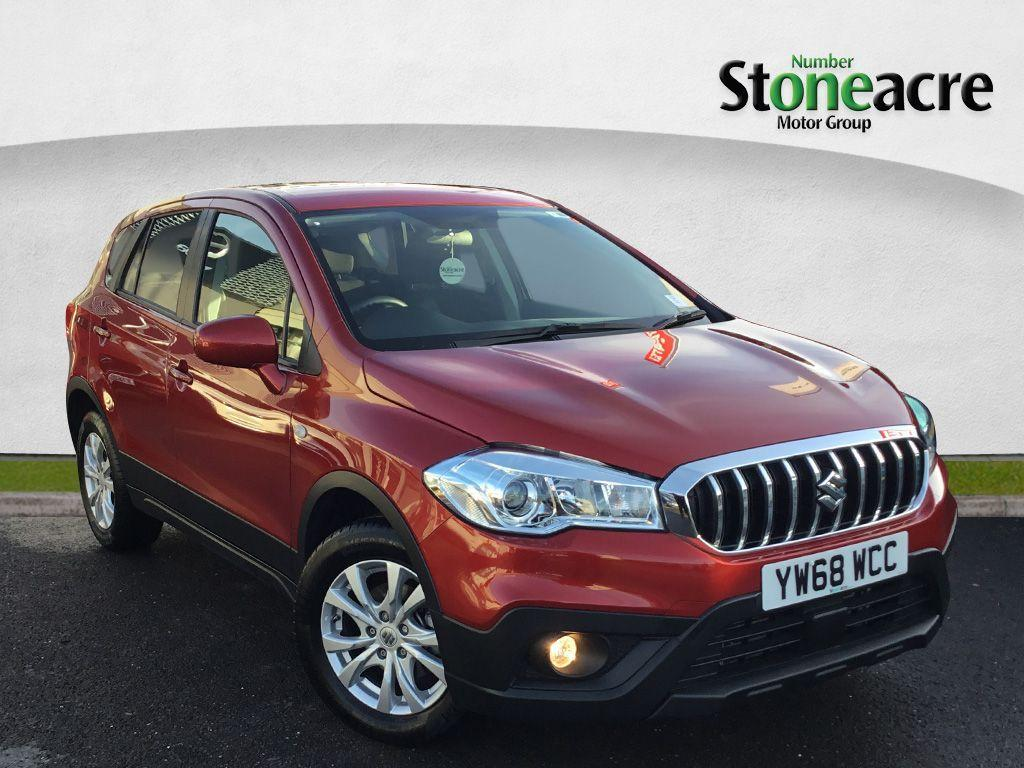 Suzuki Sx4 S-Cross 1.0 Boosterjet SZ4 SUV 5dr Petrol (s/s) (111 ps) SUV Petrol Red