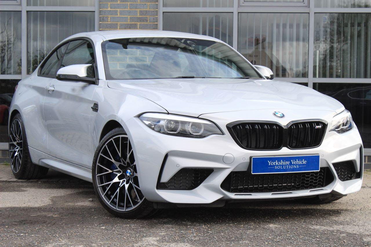 BMW M2 3.0 M2 Competition DCT Coupe Petrol Grey/silver