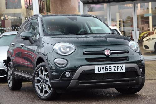 Fiat 500x 1.0 FireFly Turbo (118bhp) Cross Plus Hatchback Petrol Techno Green Metallic