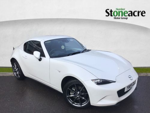 Mazda MX-5 2.0 SKYACTIV-G GT Sport Nav+ Convertible 2dr Petrol (s/s) (184 ps) Convertible Petrol White