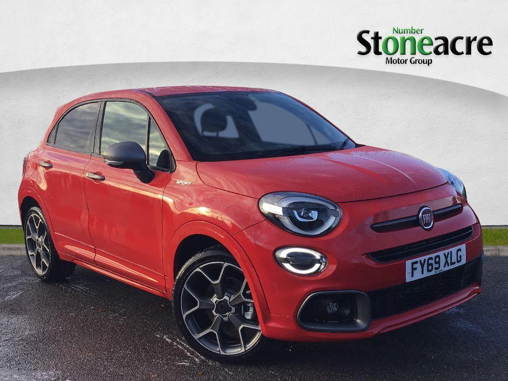 Fiat 500x 1.3 FireFly Turbo Sport SUV 5dr Petrol DCT (s/s) (150 ps) SUV Petrol Red
