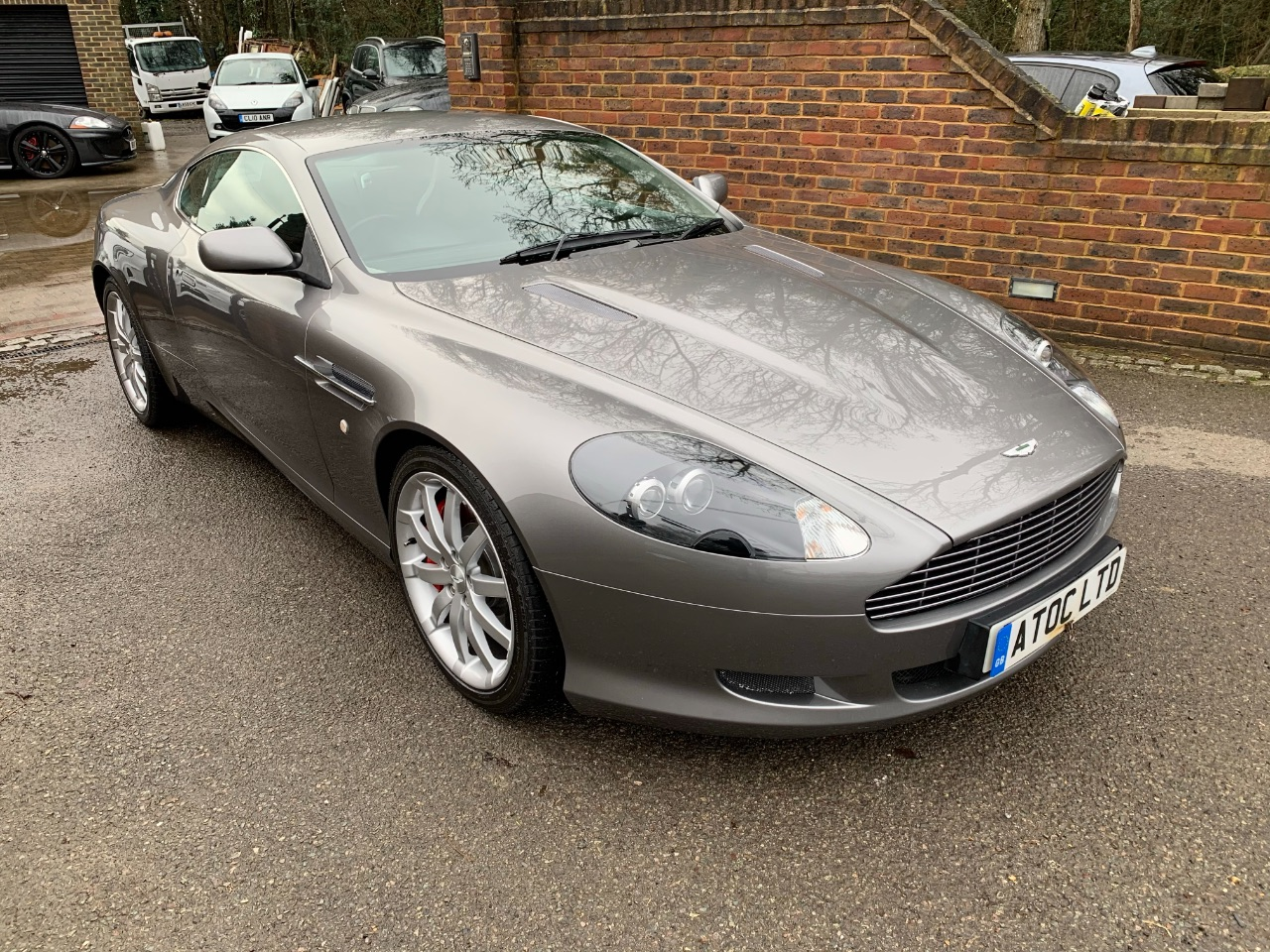 Aston Martin DB9 5.9 V12 2dr Touchtronic Auto Coupe Petrol Silver at A Touch of Class Kingsnorth