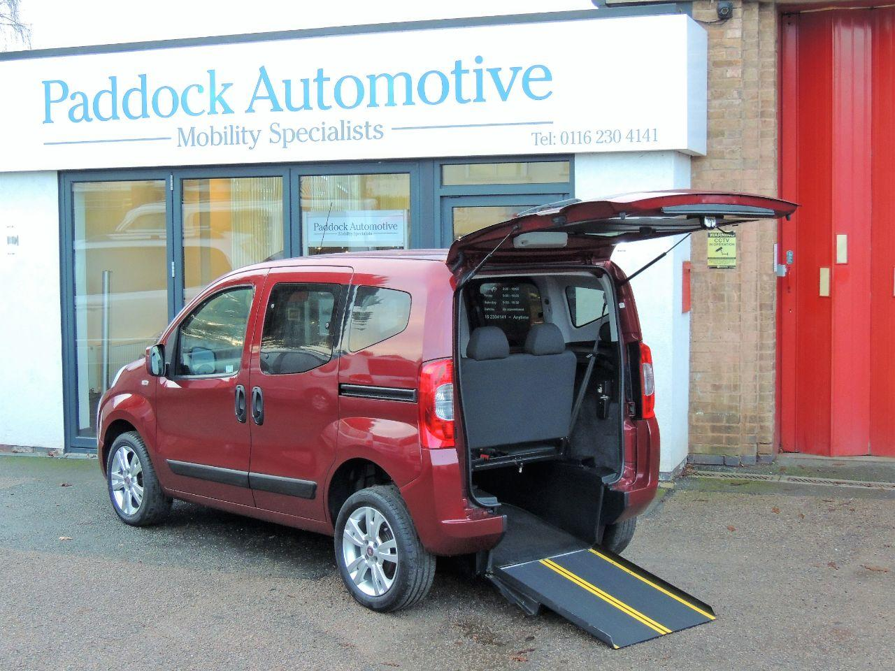 Fiat Qubo 1.3 Multijet MyLife 5dr Dualogic [Start Stop] Wheelchair Adapted Diesel Ruby Red Mica