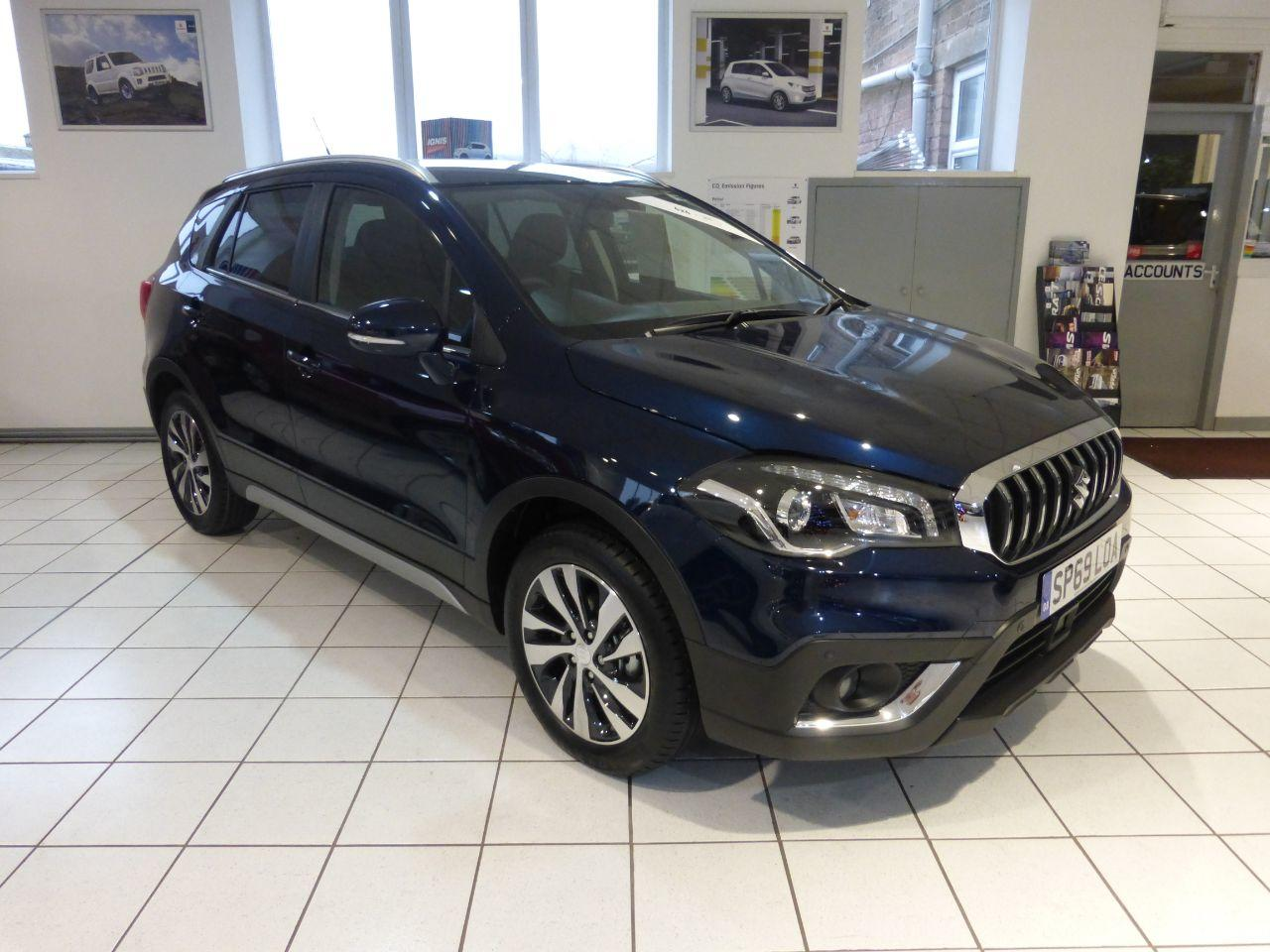 Suzuki Sx4 S-Cross 1.4 Boosterjet SZ5 ALLGRIP 5dr Hatchback Petrol Blue
