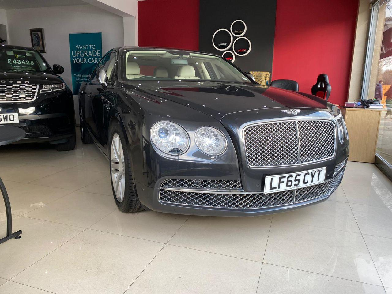Bentley Flying Spur 6.0 W12 4dr Auto Saloon Petrol Grey